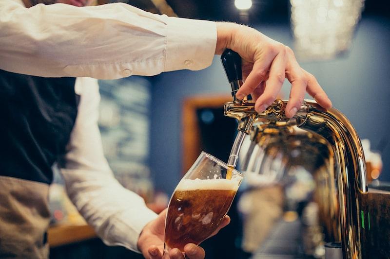 Come spillare una birra
