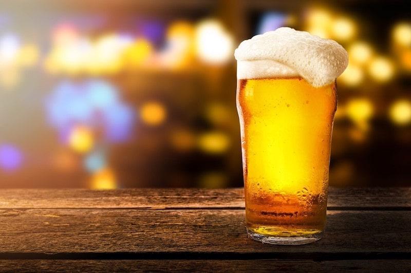 un bicchiere di birra al giorno